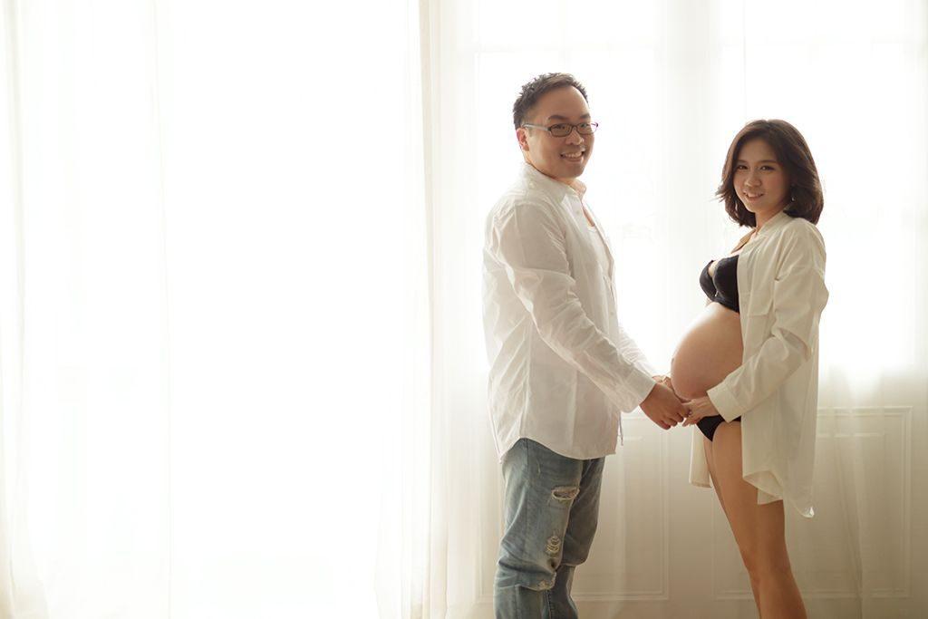 孕婦寫真 |  強森 & 柔柔  <孕婦照>