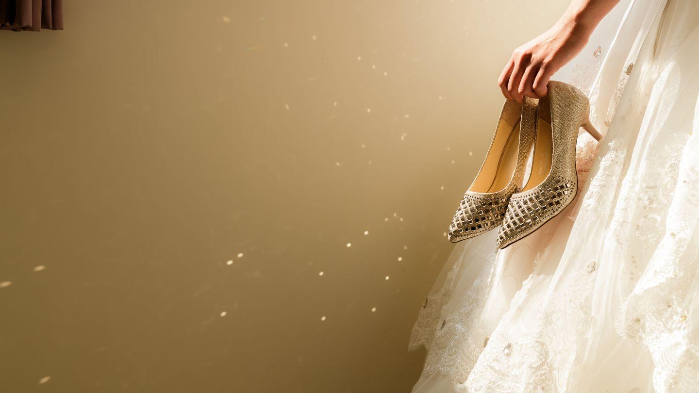 結婚的禮鞋