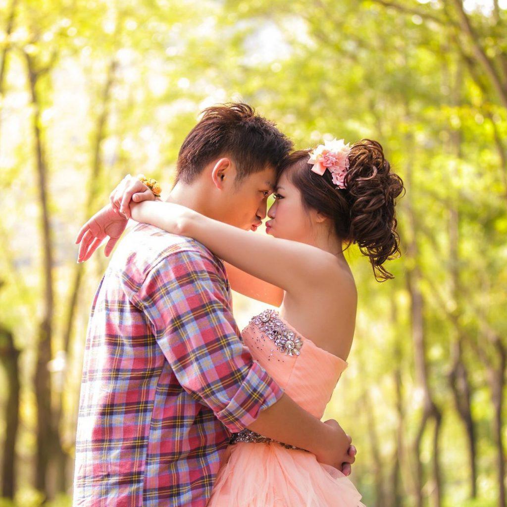 鈞喬與梓媗的婚紗