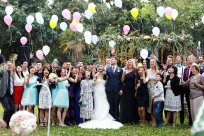 草地婚禮, 戶外婚禮, 美式婚禮