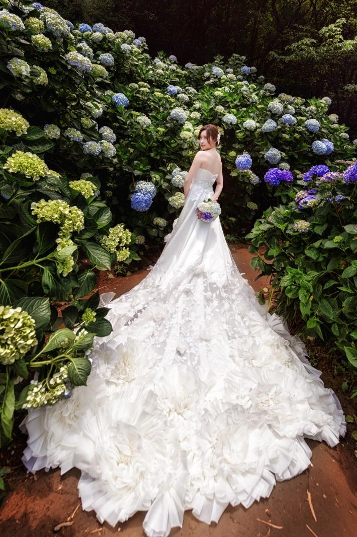 自助婚紗-繡球花婚紗-婚攝森森