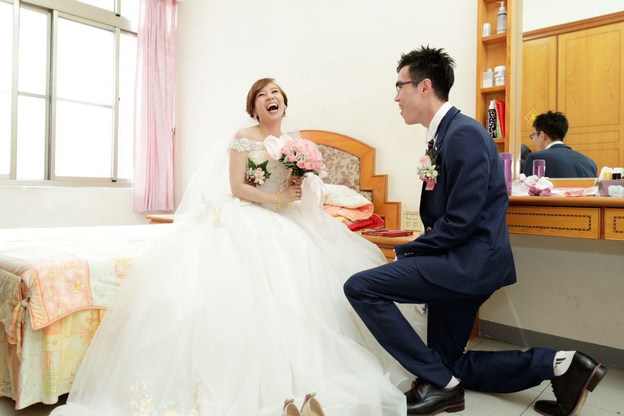 新娘迎娶, 婚攝森森, 高雄婚攝,