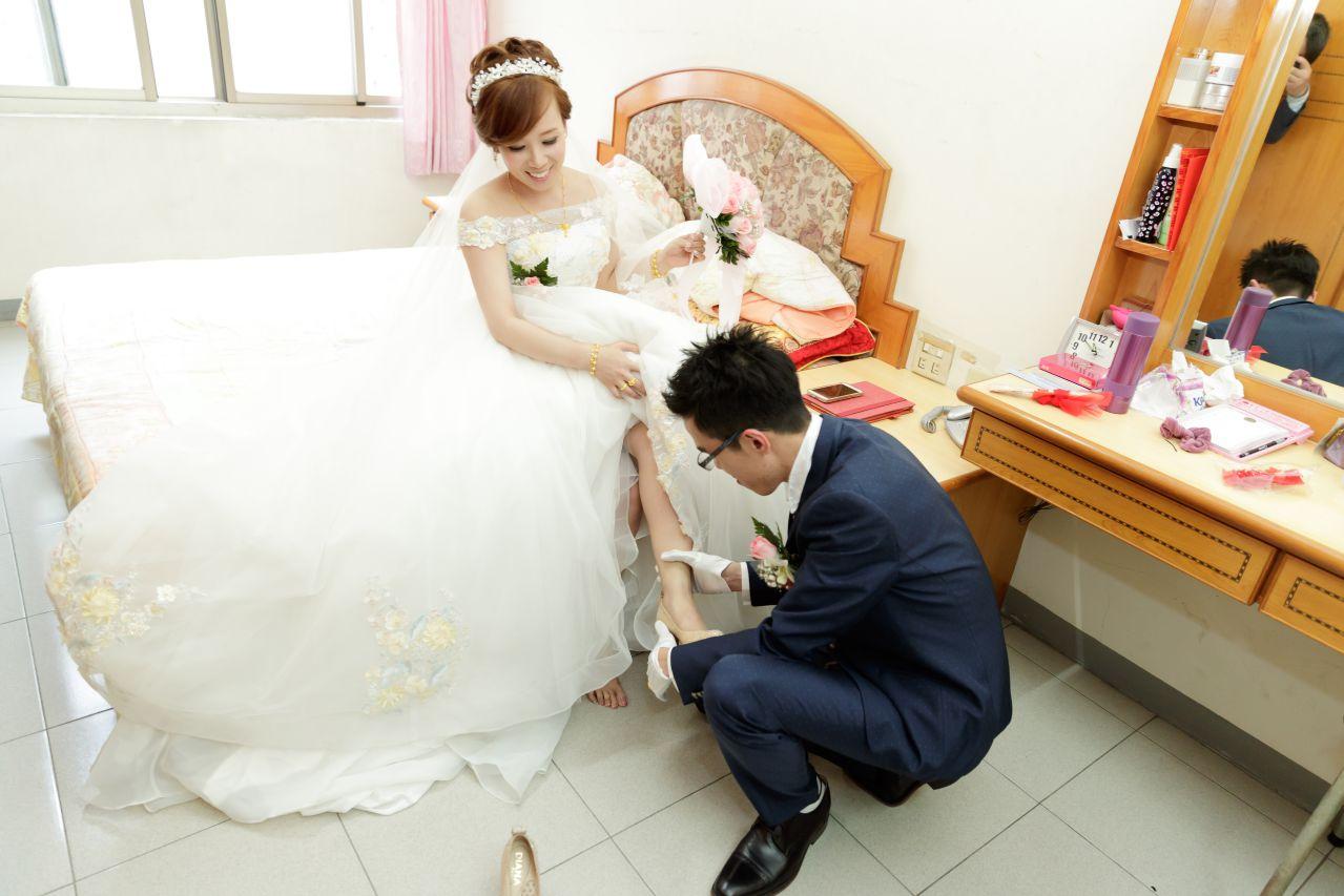 新娘迎娶穿鞋, 婚攝森森, 高雄婚攝,