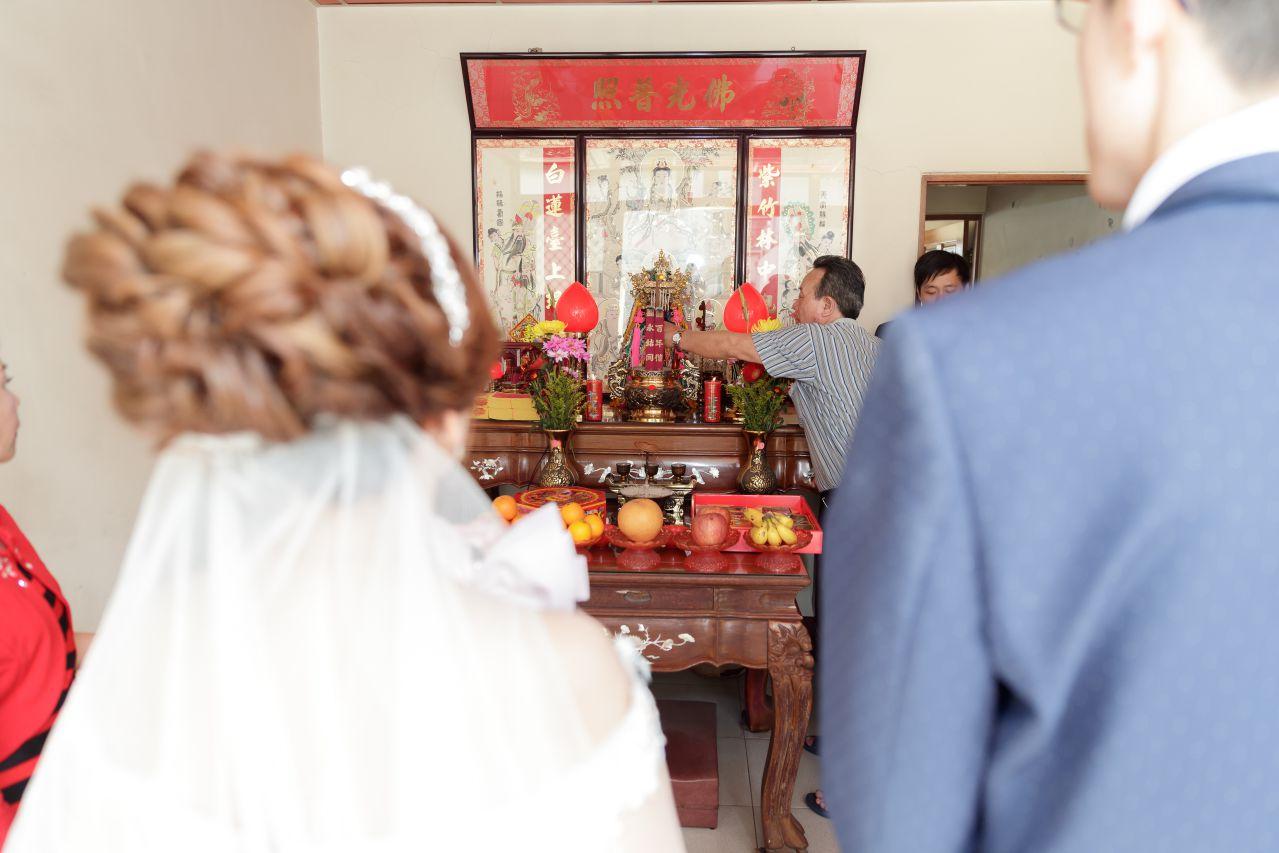 祭拜祖先, 婚攝森森, 高雄婚攝,