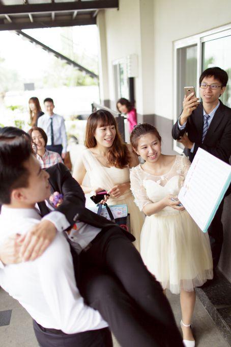婚攝 冠儒 & 度度- 珍村婚宴會館