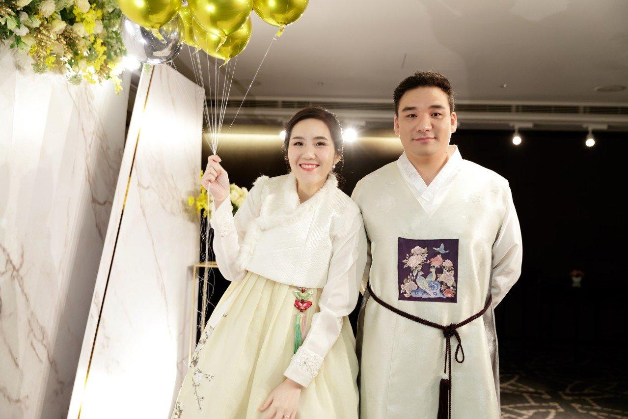 台北晶華酒店婚禮攝影,氣球進場