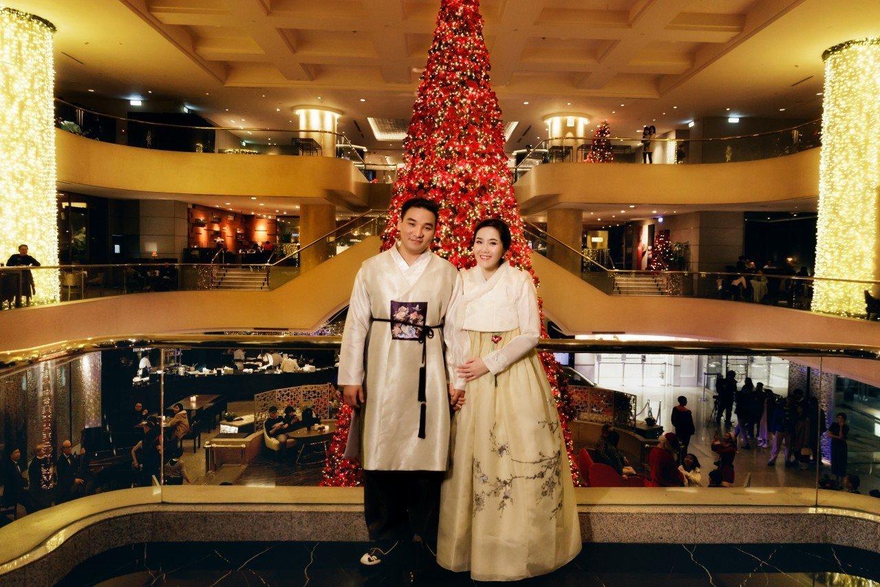 晶華酒店婚禮攝影, 韓式婚禮