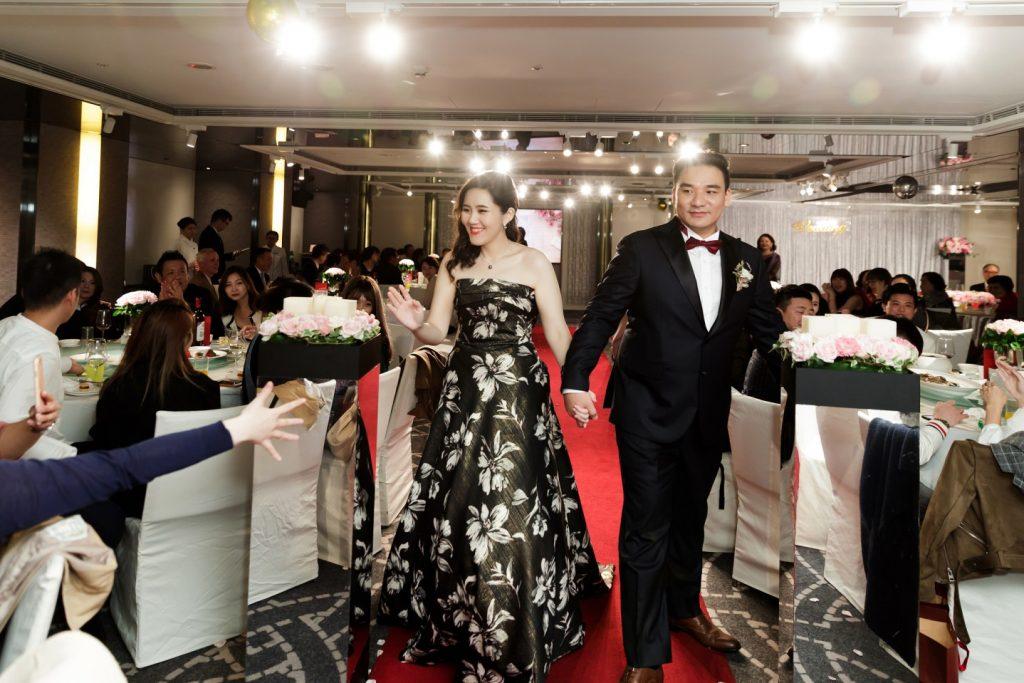 晶華酒店婚禮攝影, 晶英會宴客廳紅地毯, 婚攝森森
