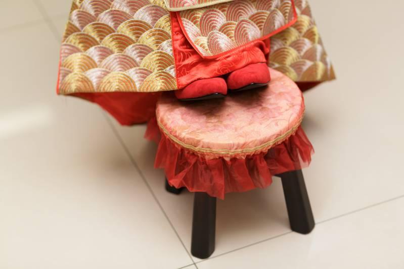 訂婚儀式之高低椅