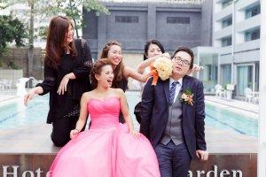 高雄婚禮紀錄 – 華園飯店婚禮攝影 – 婚攝森森