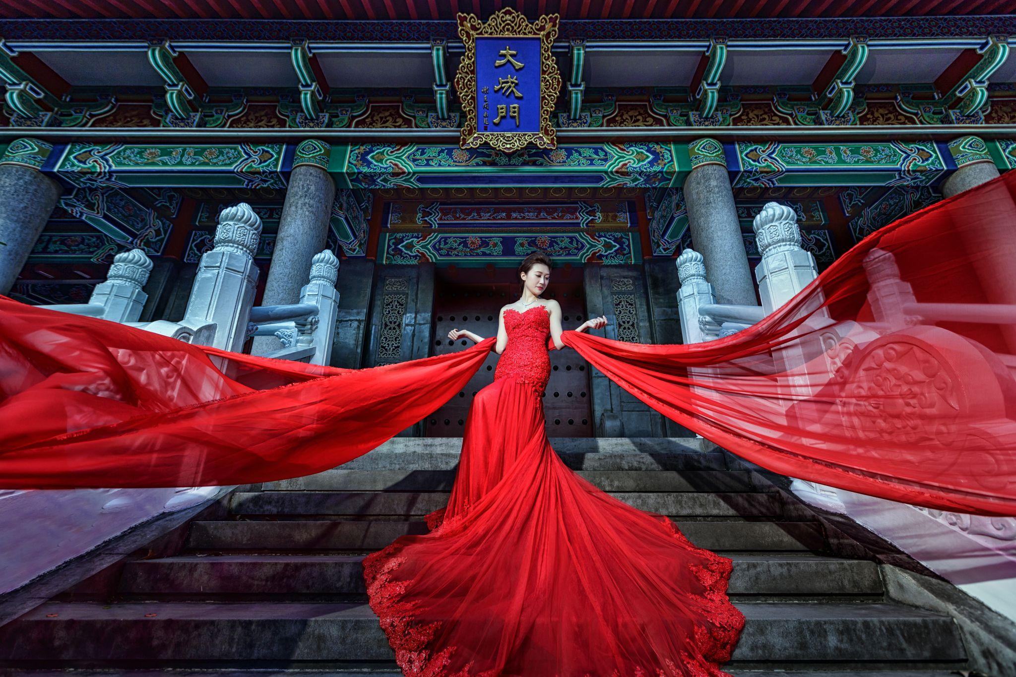 中式風格婚紗照
