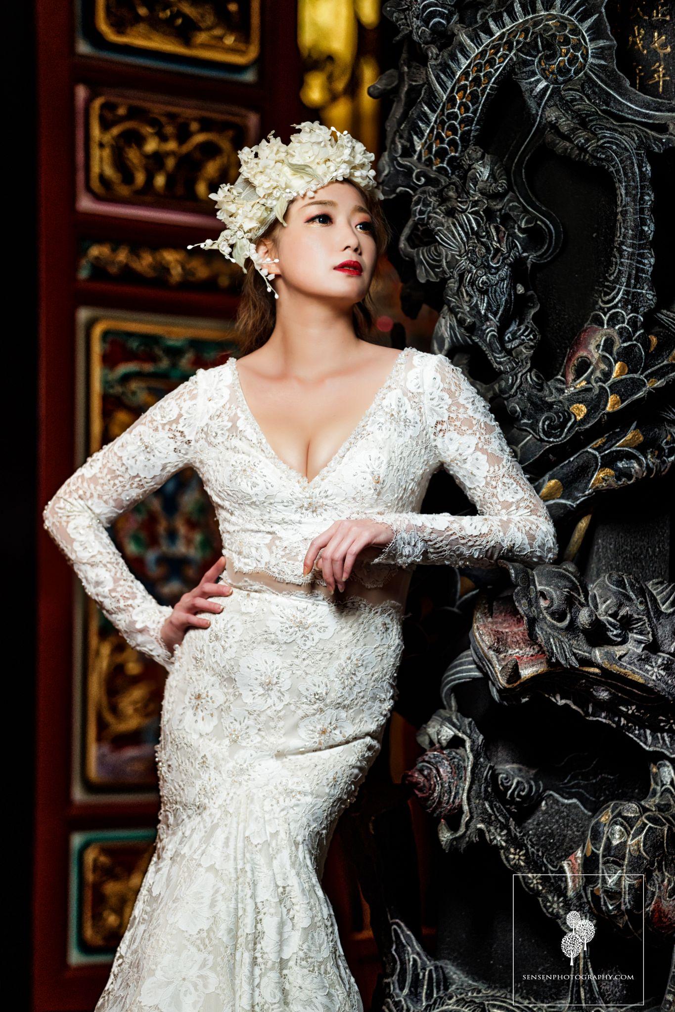 中式風格婚紗照,中國風