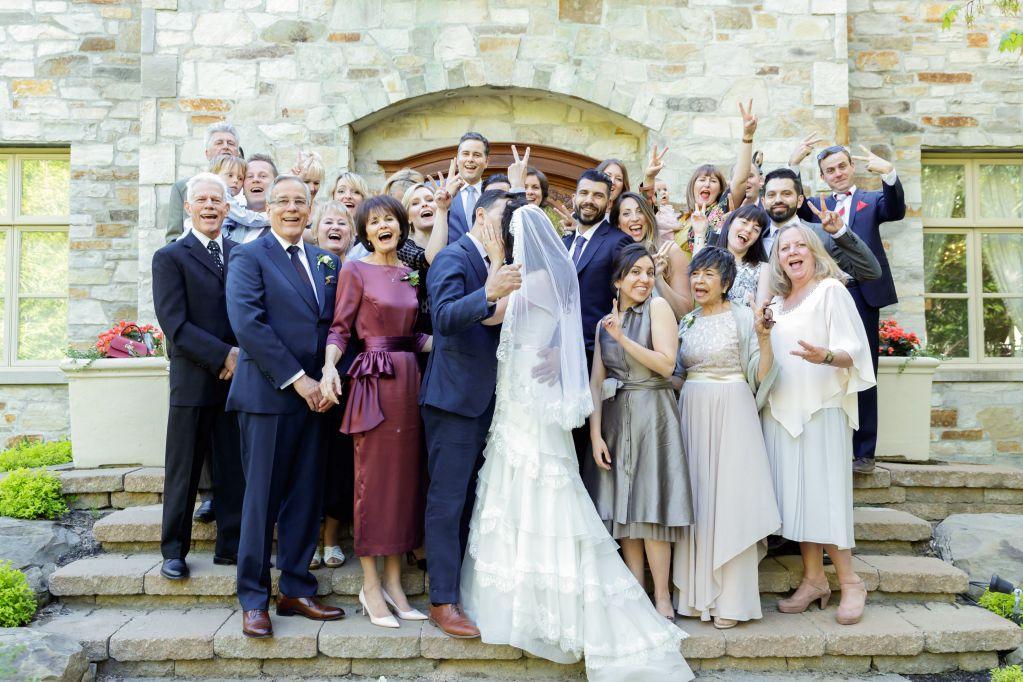 婚禮合照接吻篇