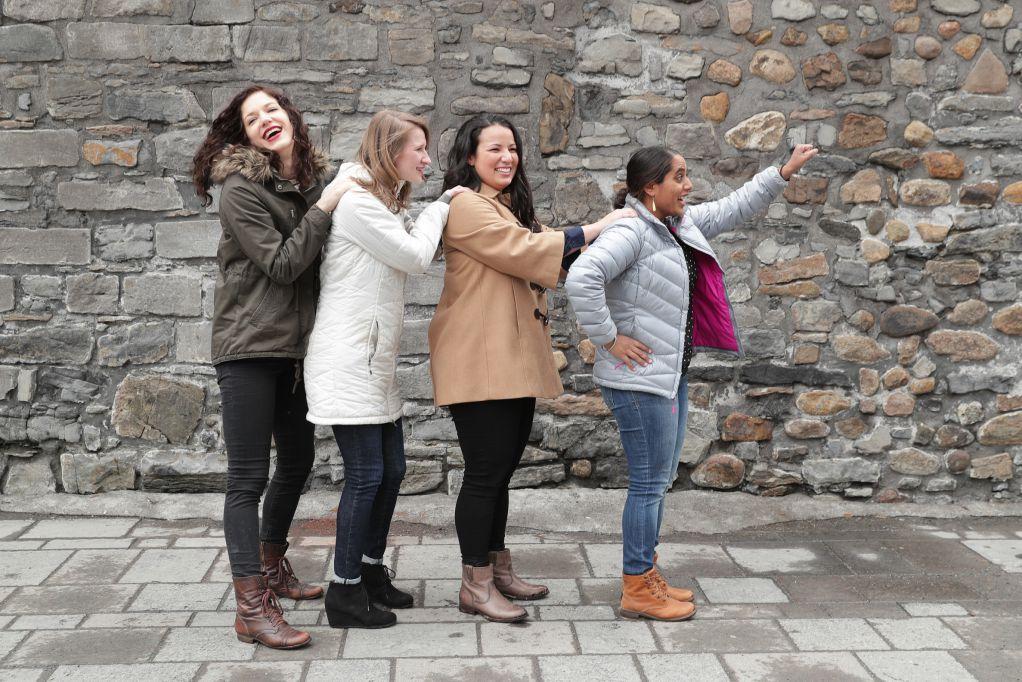 加拿大旅遊寫真-團體照攝影-3+1 - 團體照攝影