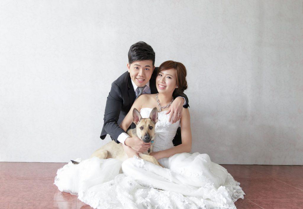高雄婚紗拍攝, 狗狗婚紗