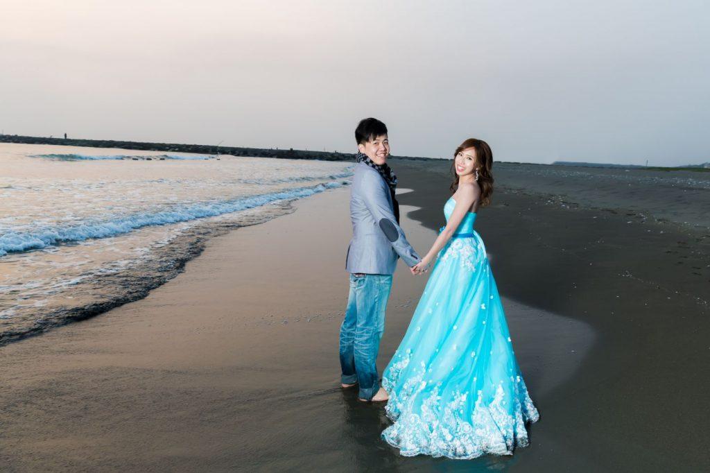 海邊婚紗照, 高雄婚紗工作室, 高雄婚攝森森