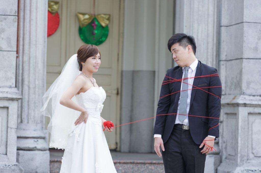 高雄婚紗景點, 高雄婚紗工作室, 高雄玫瑰聖母聖殿教堂婚紗照