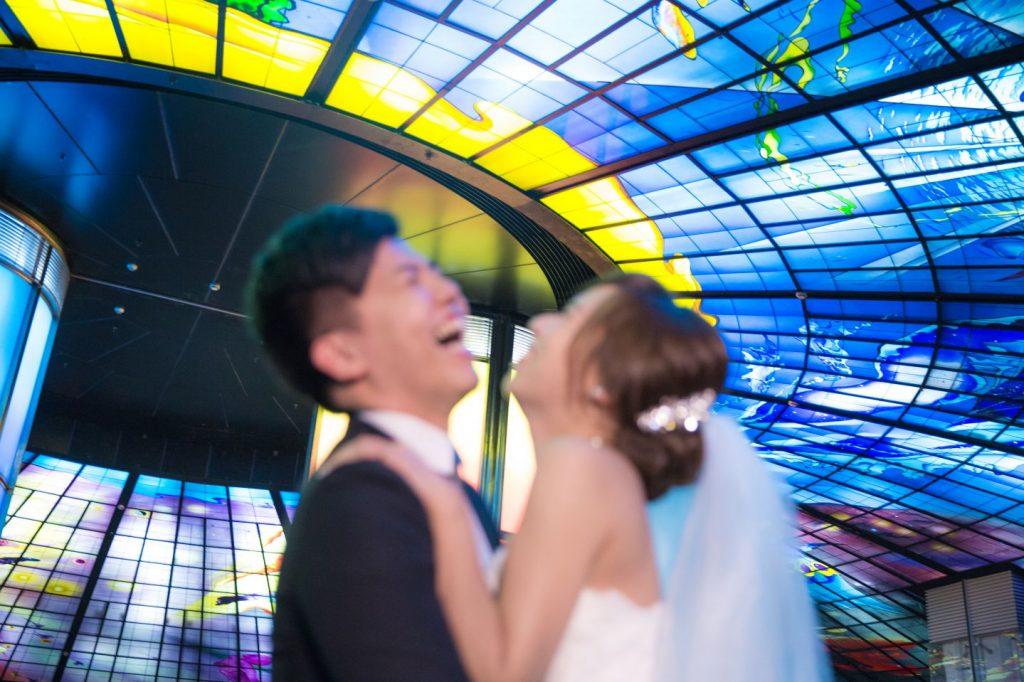高雄婚紗照片, 美麗島婚紗照, 光之穹頂婚紗照