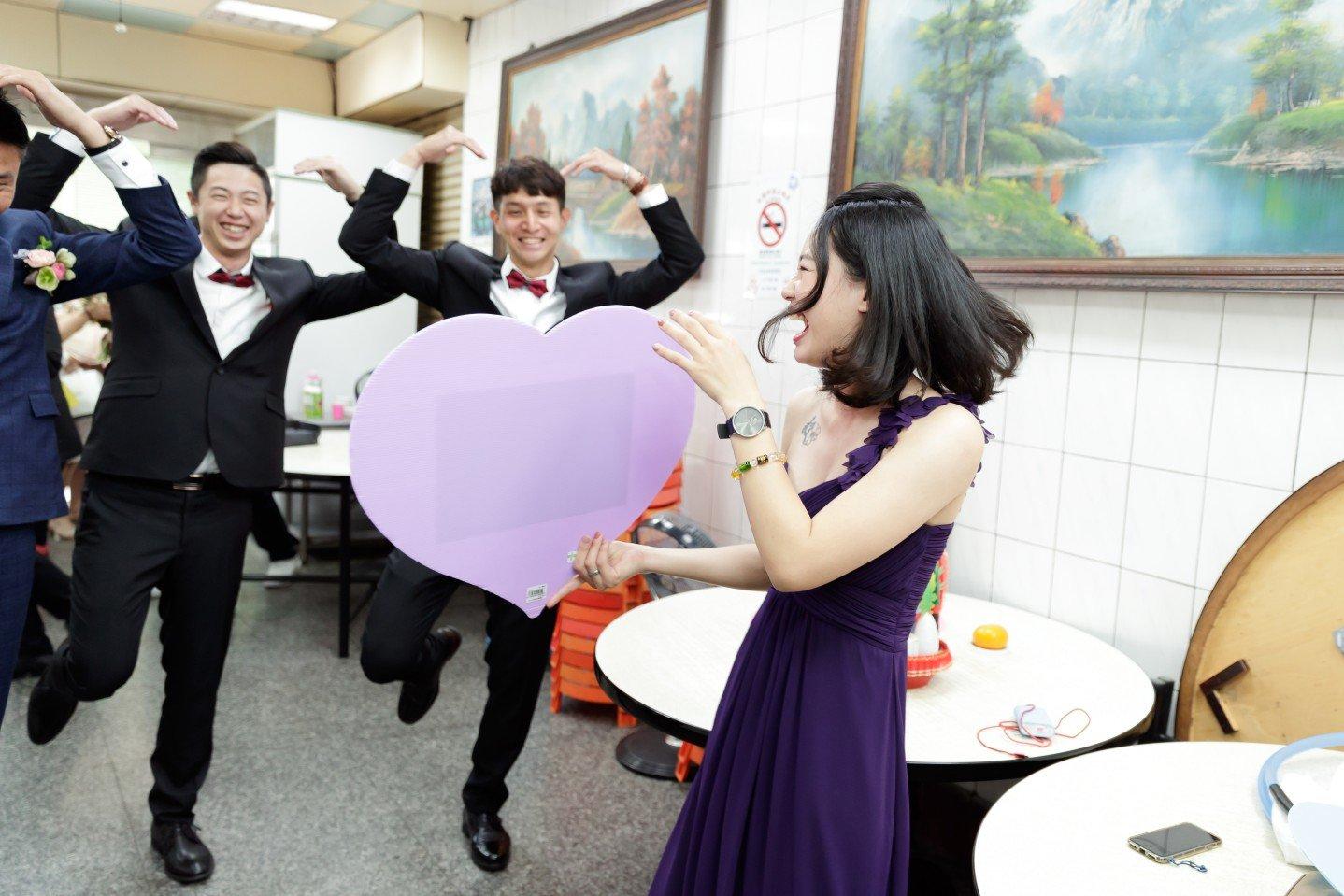 婚攝|暉雄&欣怡@高雄老新台菜 - 老新台菜婚禮攝影