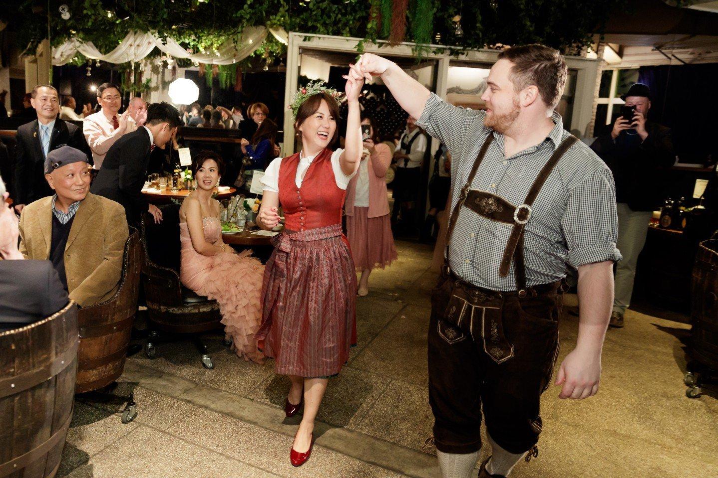 西式婚禮,金色三麥婚禮攝影,德式婚禮