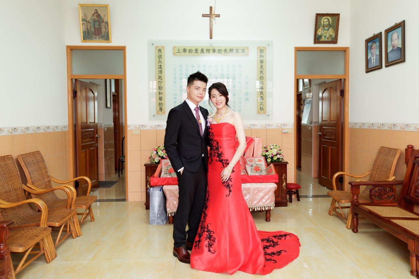 [婚攝]  Hank & Stella 訂婚紀錄@戶外婚禮流水席+教會證婚
