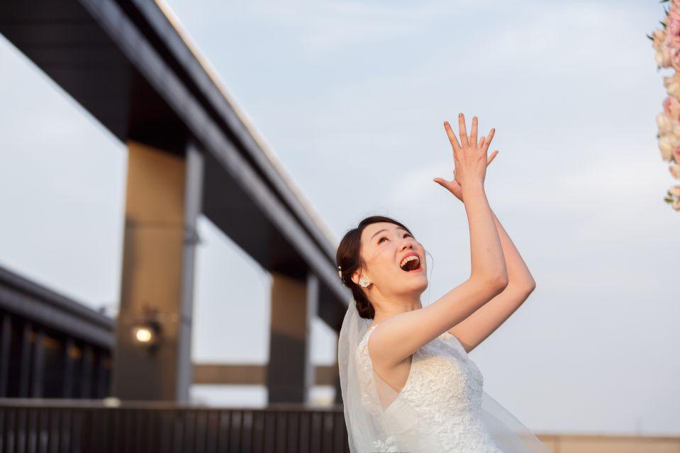 婚攝-台北格萊天漾婚禮攝影-教會儀式-Hank-Stella-158