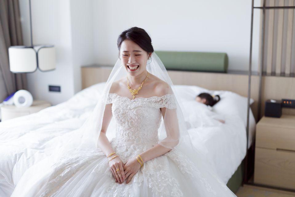 婚攝-台北格萊天漾婚禮攝影-教會儀式-Hank-Stella-36