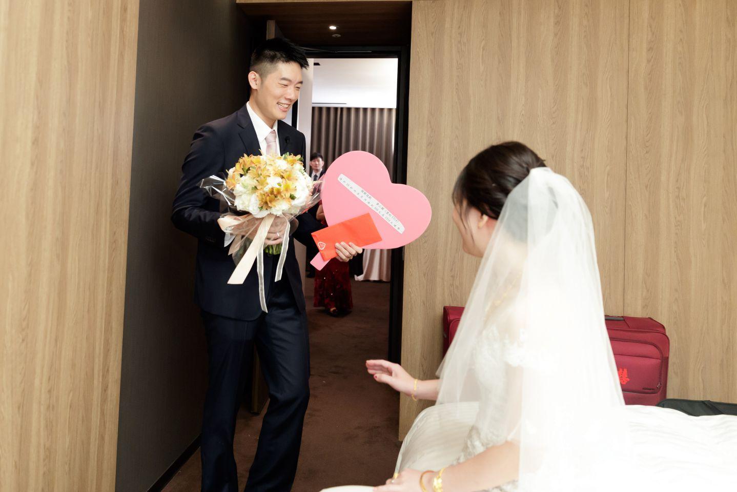 結婚儀式討喜