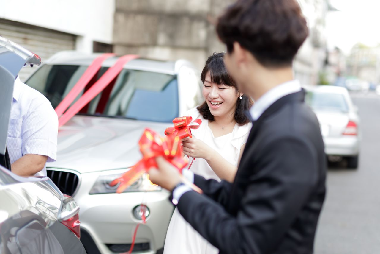 結婚流程之綁車綵