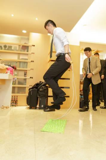 婚禮闖關懲罰-健康步道足墊-跳繩