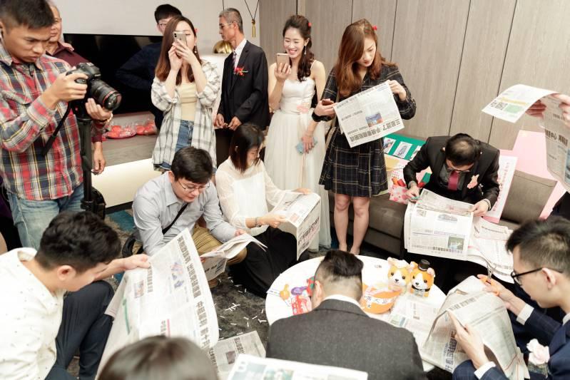 婚禮闖關遊戲-在報紙中尋找指定字_03