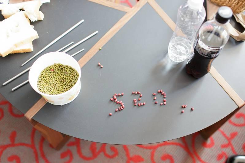 婚禮闖關遊戲-挑出紅豆