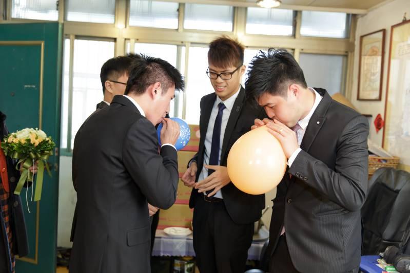 婚禮闖關遊戲-擠爆氣球