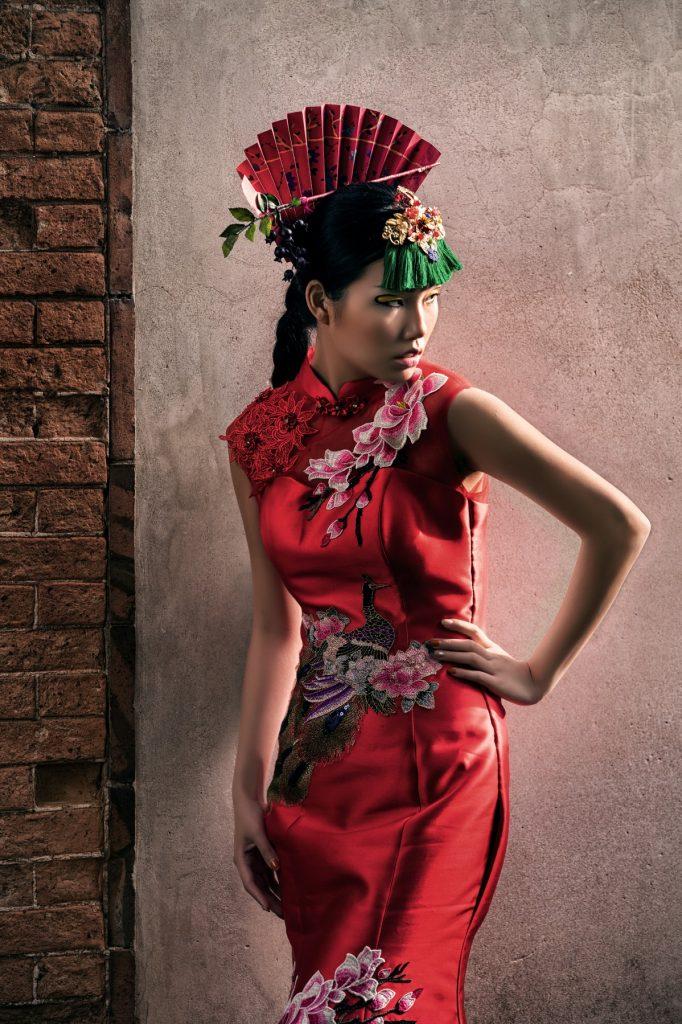 中式婚紗照,旗袍婚紗,時尚中國風,婚紗工作室,婚攝森森