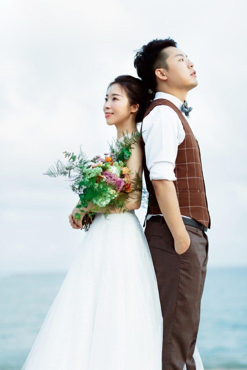 小清新婚紗風格
