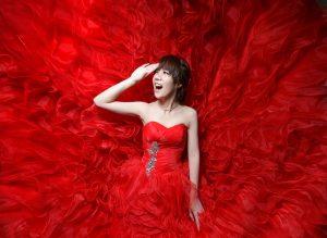 紅的氣勢-為什麼我喜歡這張婚攝作品