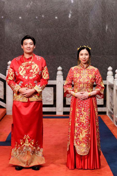 婚攝作品-韓國新娘-高雄圓山-歸寧婚禮-龍鳳褂