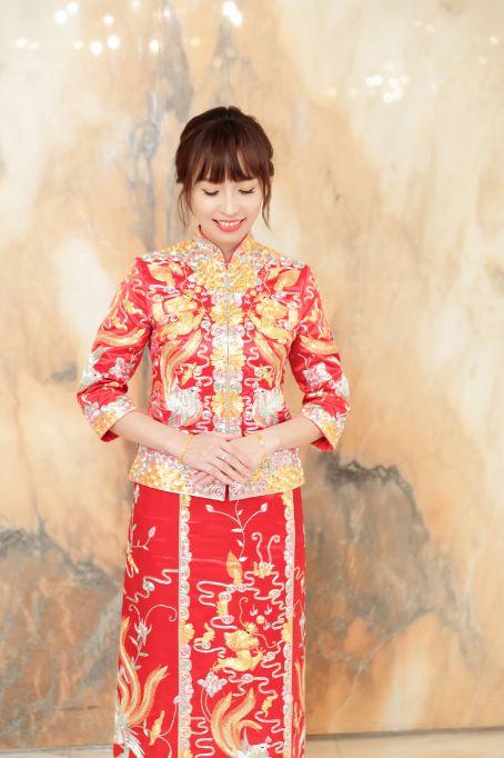 婚攝,龍鳳褂,訂婚,中式婚禮,婚攝森森