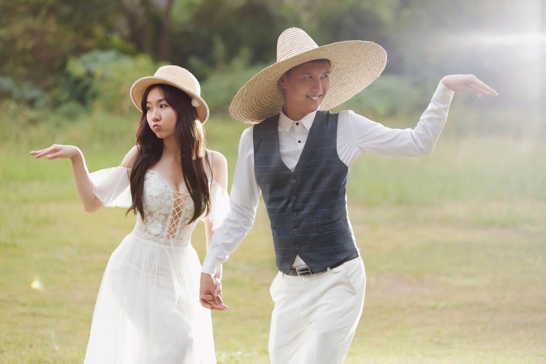 高雄台南大自然草地婚紗照,高雄婚紗工作室,婚紗攝影