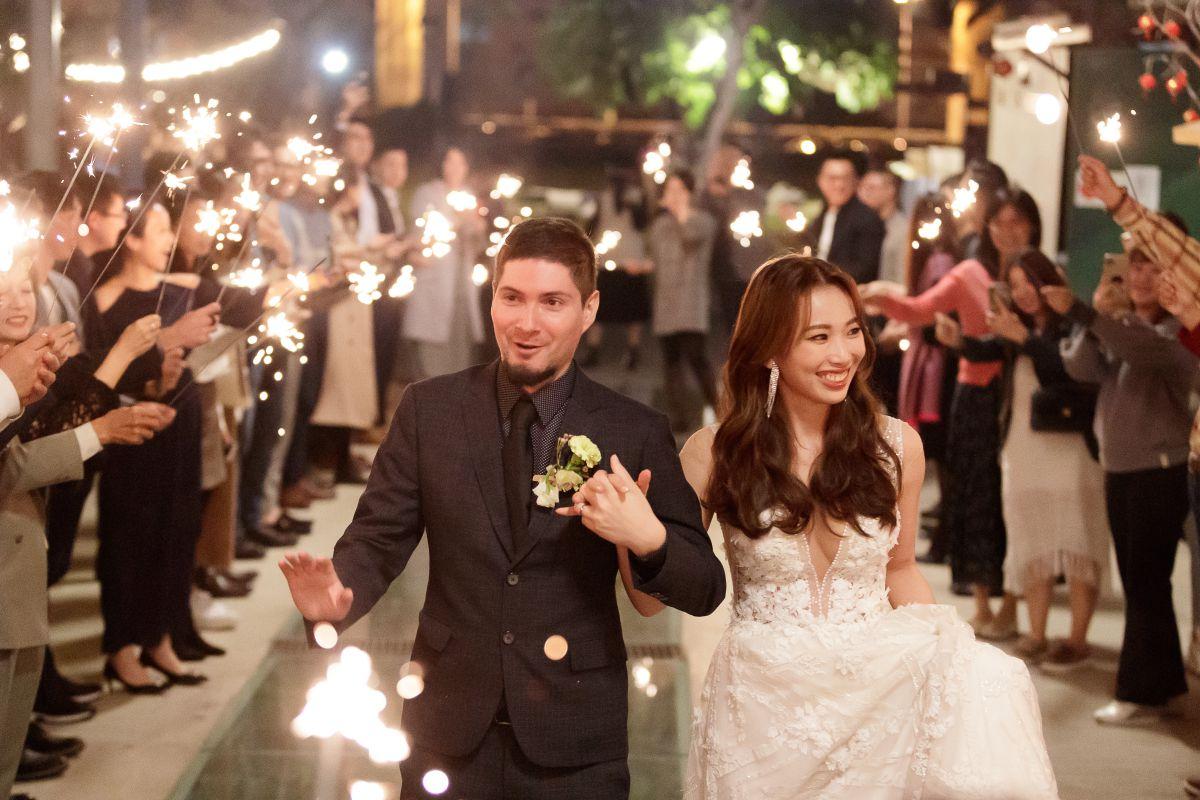 高雄十鼓橋糖文創園區婚禮攝影,婚攝,高雄婚攝,戶外婚禮,美式婚禮,仙女棒進場