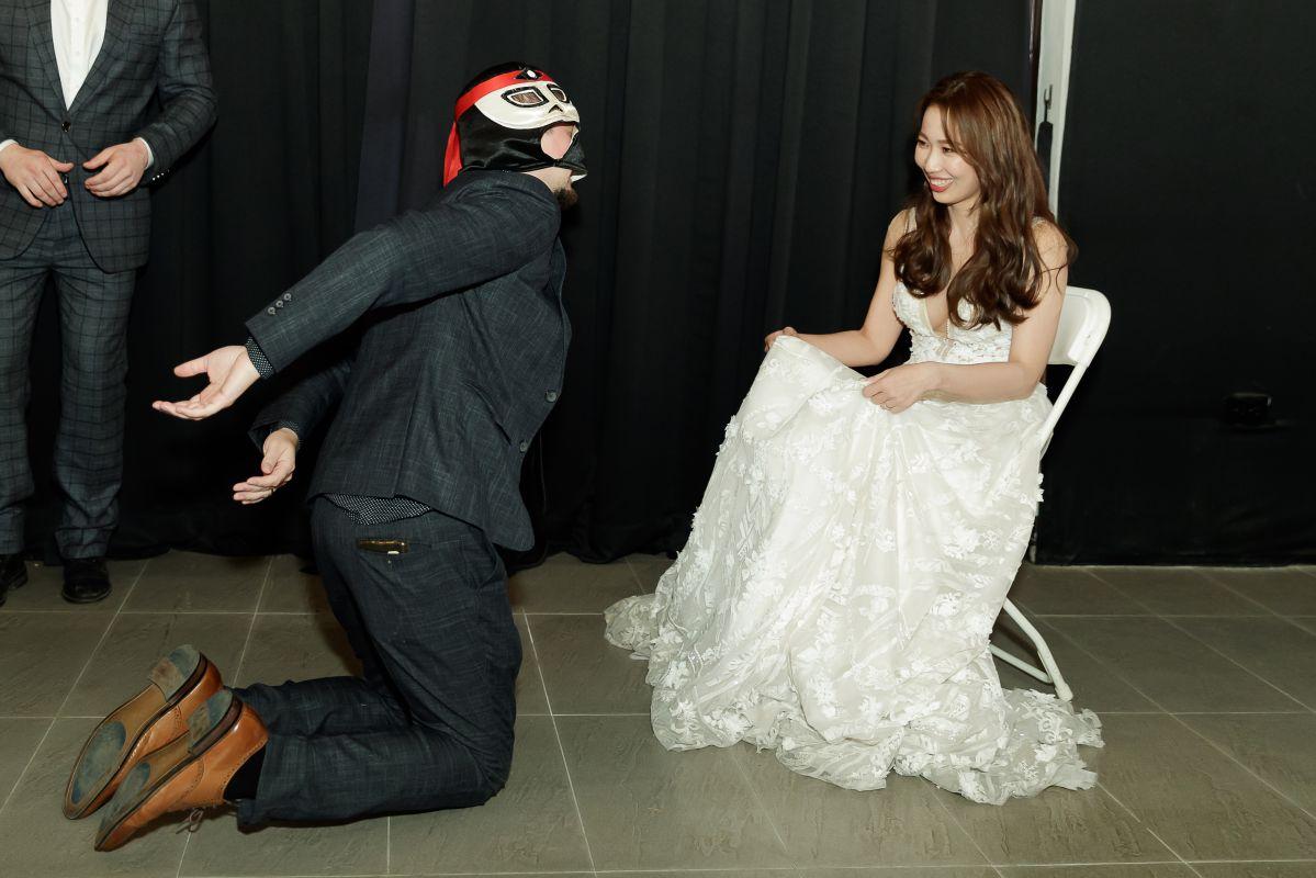 高雄十鼓橋糖文創園區婚禮攝影,婚攝,高雄婚攝,戶外婚禮,美式婚禮,西式婚禮,Garter Toss 大腿襪遊戲