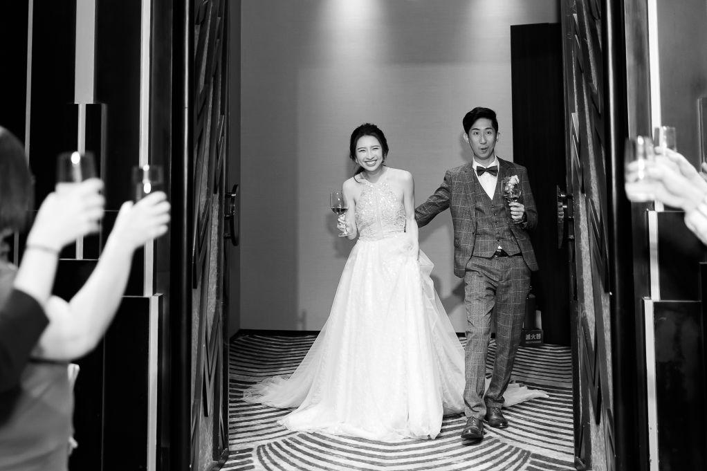 黑白照-婚禮照片@高雄晶綺盛宴