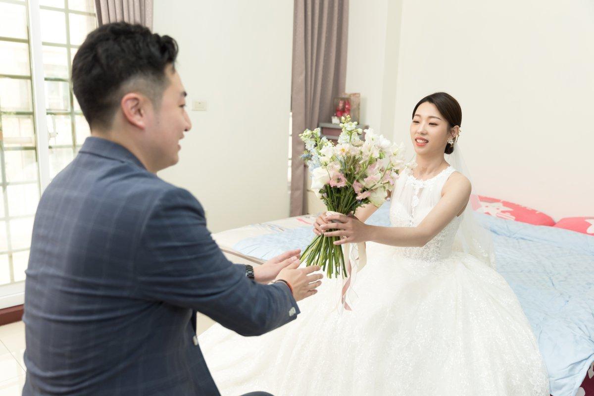 [婚攝]AD&愛花@老新台菜&福氣教會