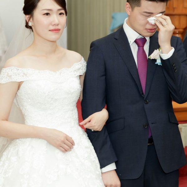 婚攝-台北格萊天漾婚禮攝影-教會儀式-Hank-Stella-122